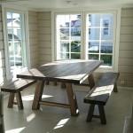 Lankkupöytä ja Penkit